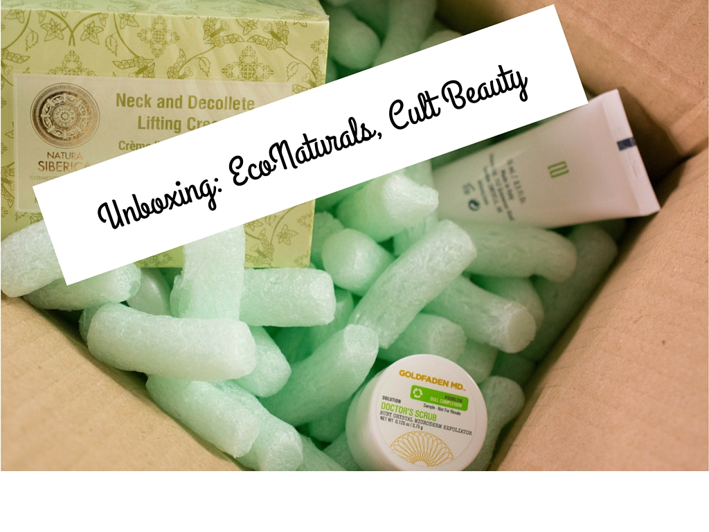 Unboxing: EcoNaturals, Cult Beauty