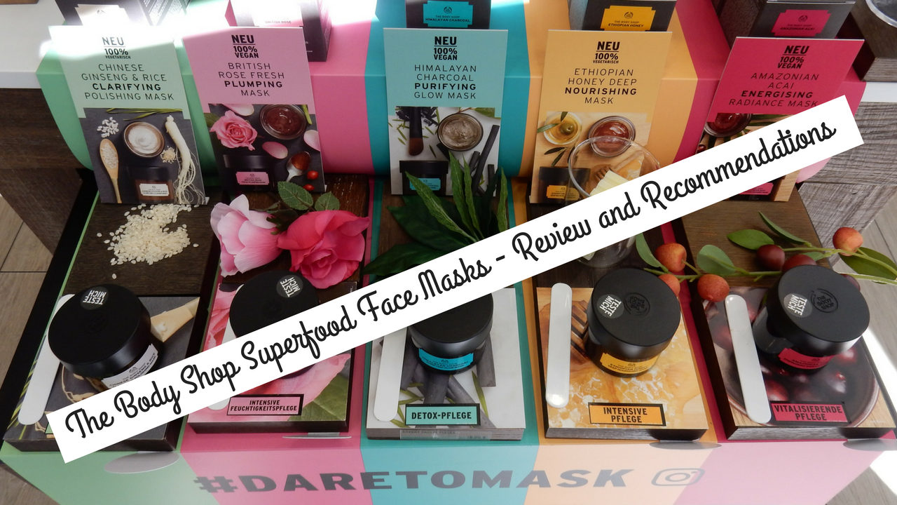 The Body Shop Superfood Face Masks