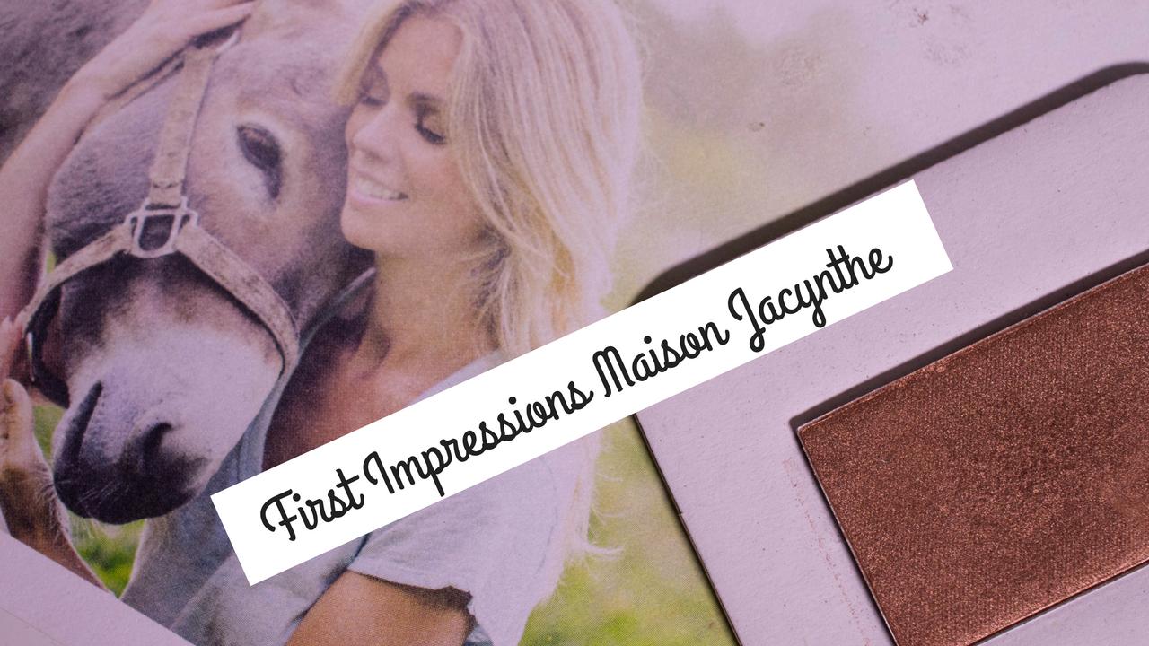 First Impressions Maison Jacynthe