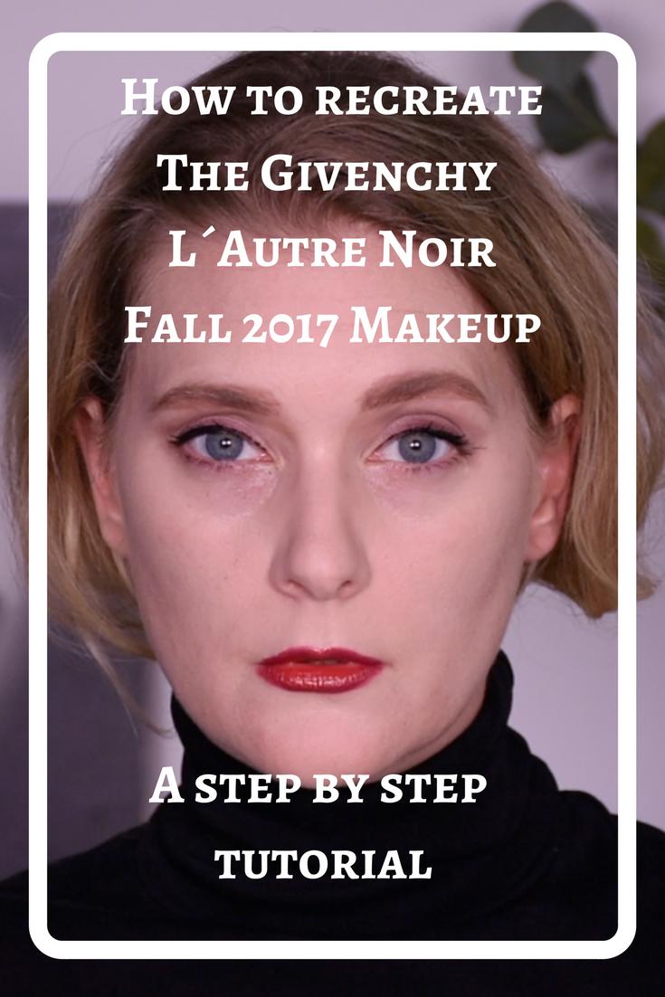 Givenchy L´Autre Noir Fall 2017