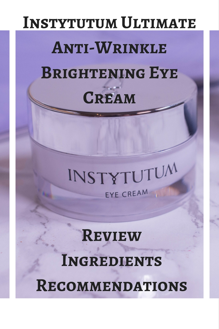 Instytutum Ultimate Anti-Wrinkle Brightening Eye Cream