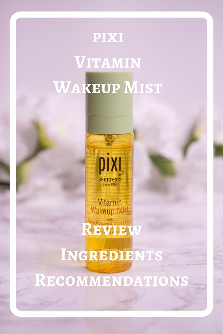 pixi Vitamin Wakeup Mist