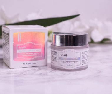 dear klairs Freshly Juiced Vitamin E Mask Review