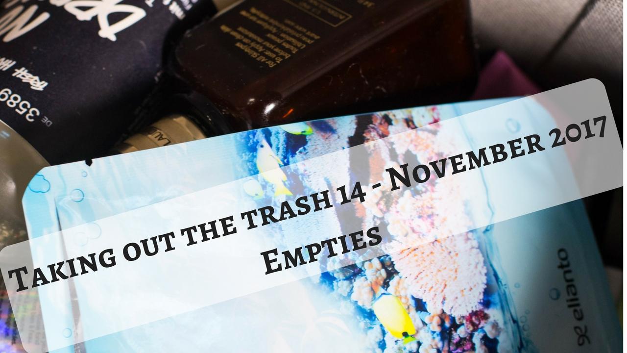 November Empties
