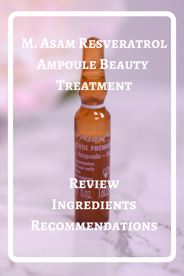 M. Asam Resveratrol Premium Ampoule Beauty Treatment
