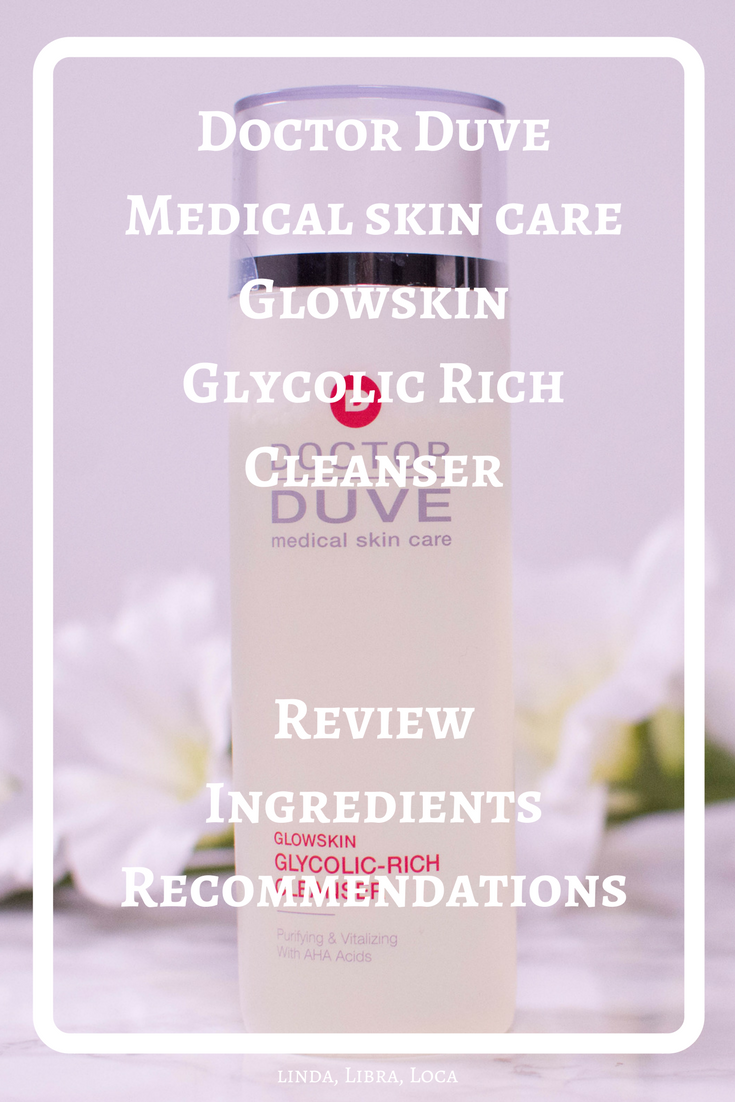 Doctor Duve Medical skin care Glowskin Glycolic Rich Cleanser