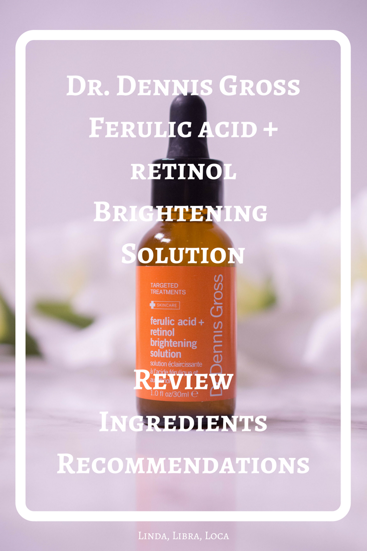 Dr. Dennis Gross Ferulic Acid + Retinol Brightening Solution