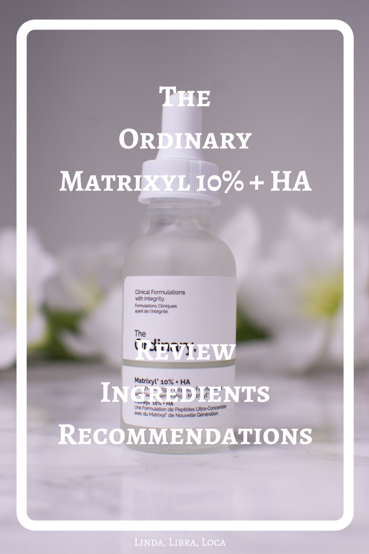 he OrdinaryMatrixyl 10% + HA