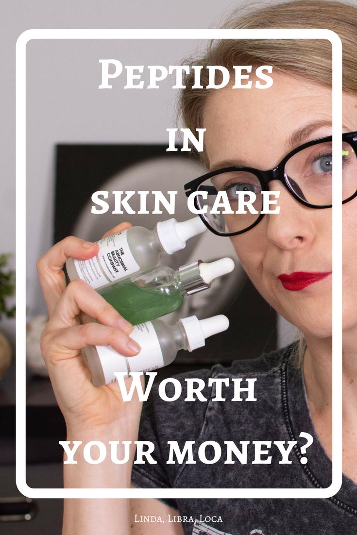 Peptides in skin care