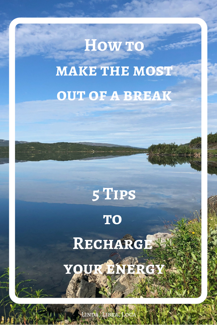 How to recharge your energy
