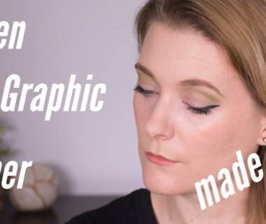 Wearable Makeup Trends 2019 - Green Graphic Liner