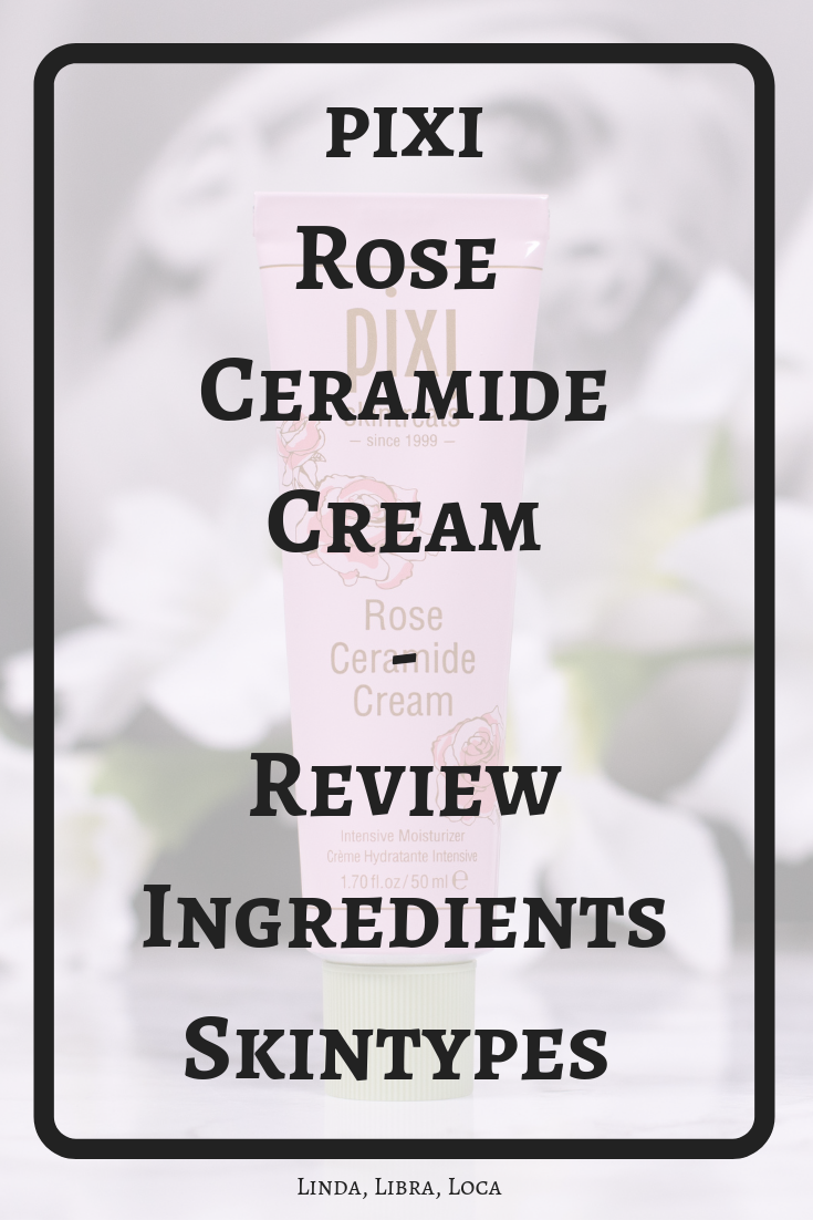 pixi Rose Ceramide Cream Review