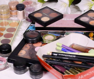 Eye Makeup Declutter