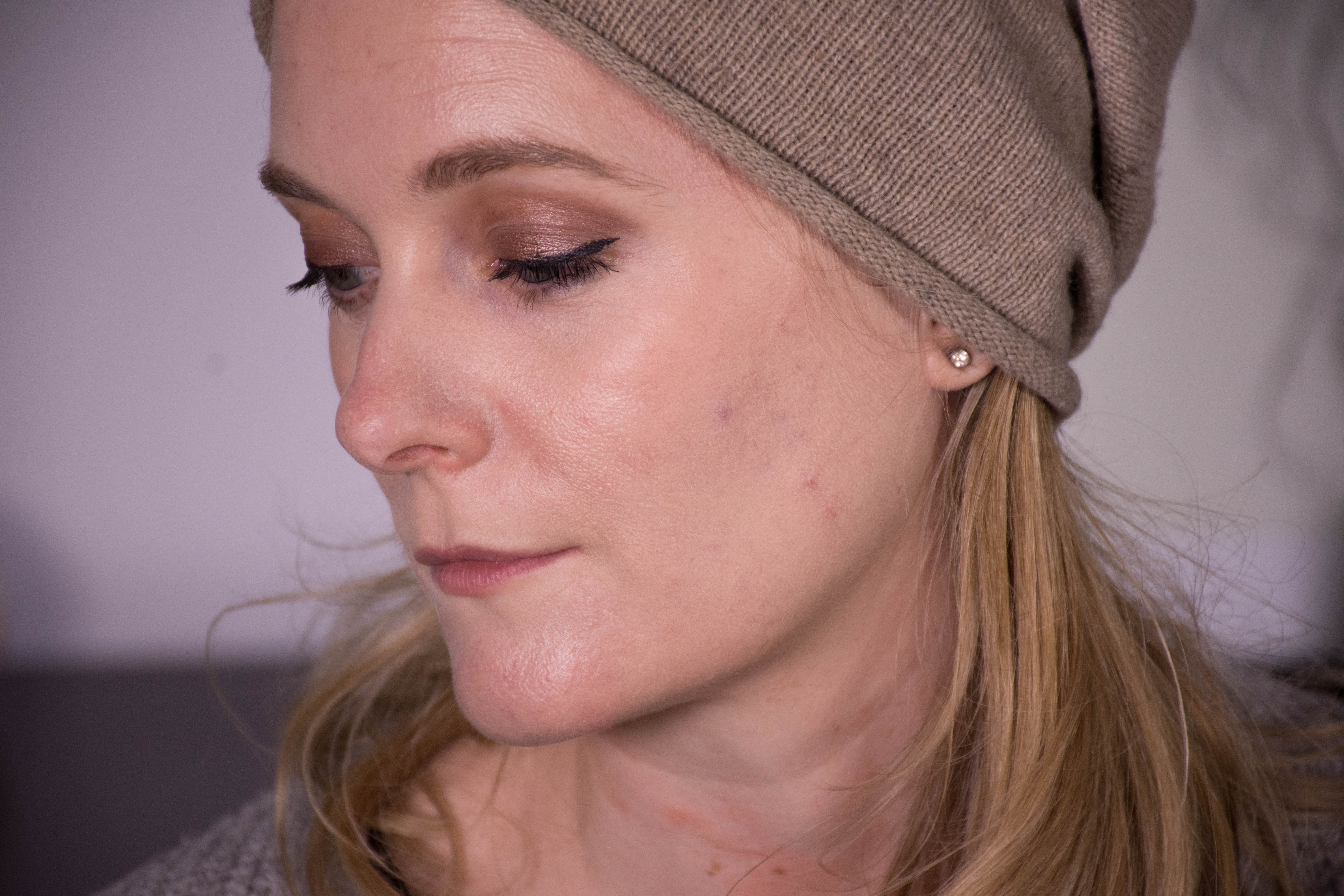 The Sephora Matte Perfection Foundation at ten hours of wear.