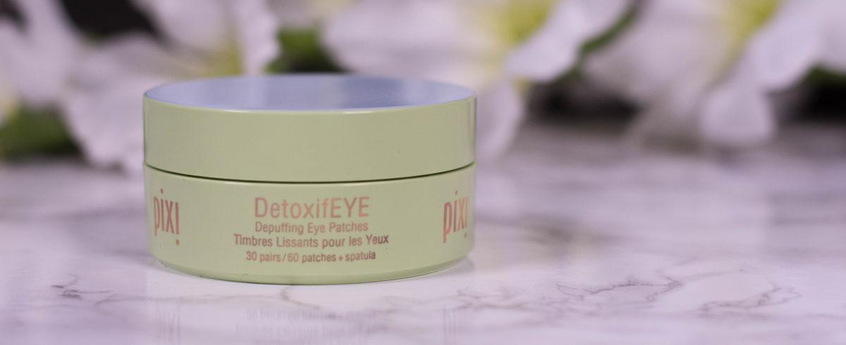 pixi DetoxifEYE Depuffing Eye Patches