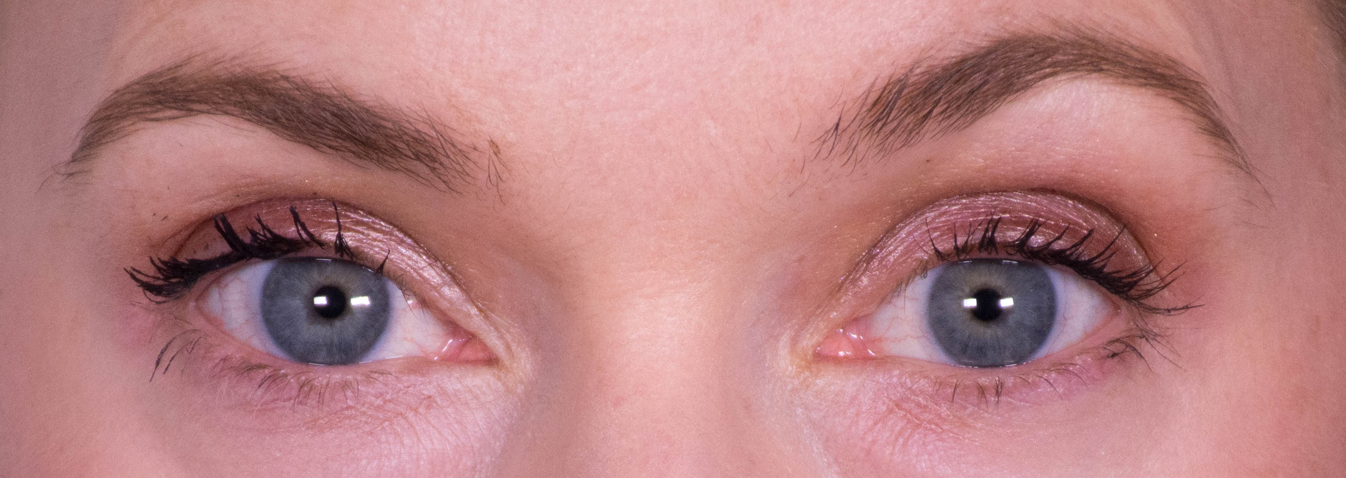 Several coats of Lancome Definicils on lashes