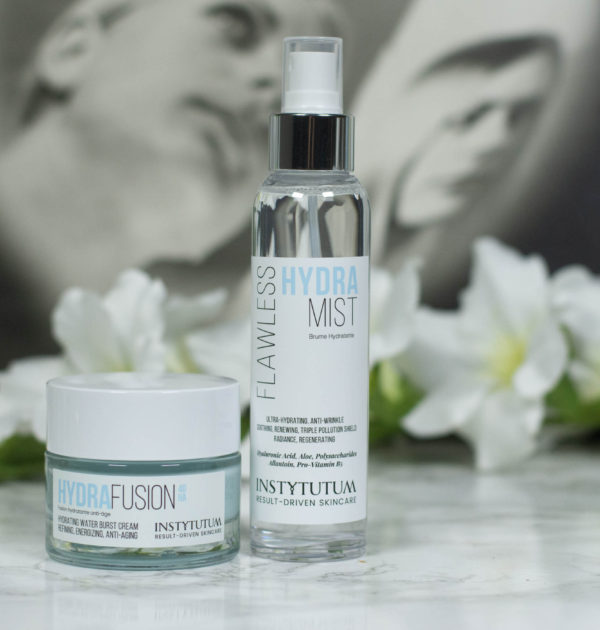 Instytutum Hydra Flawless Mist and Insytutum Hydrafusion 4D HA Water Burst Cream Review