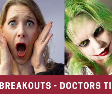How to remove your Halloween Makeup to prevent breakouts