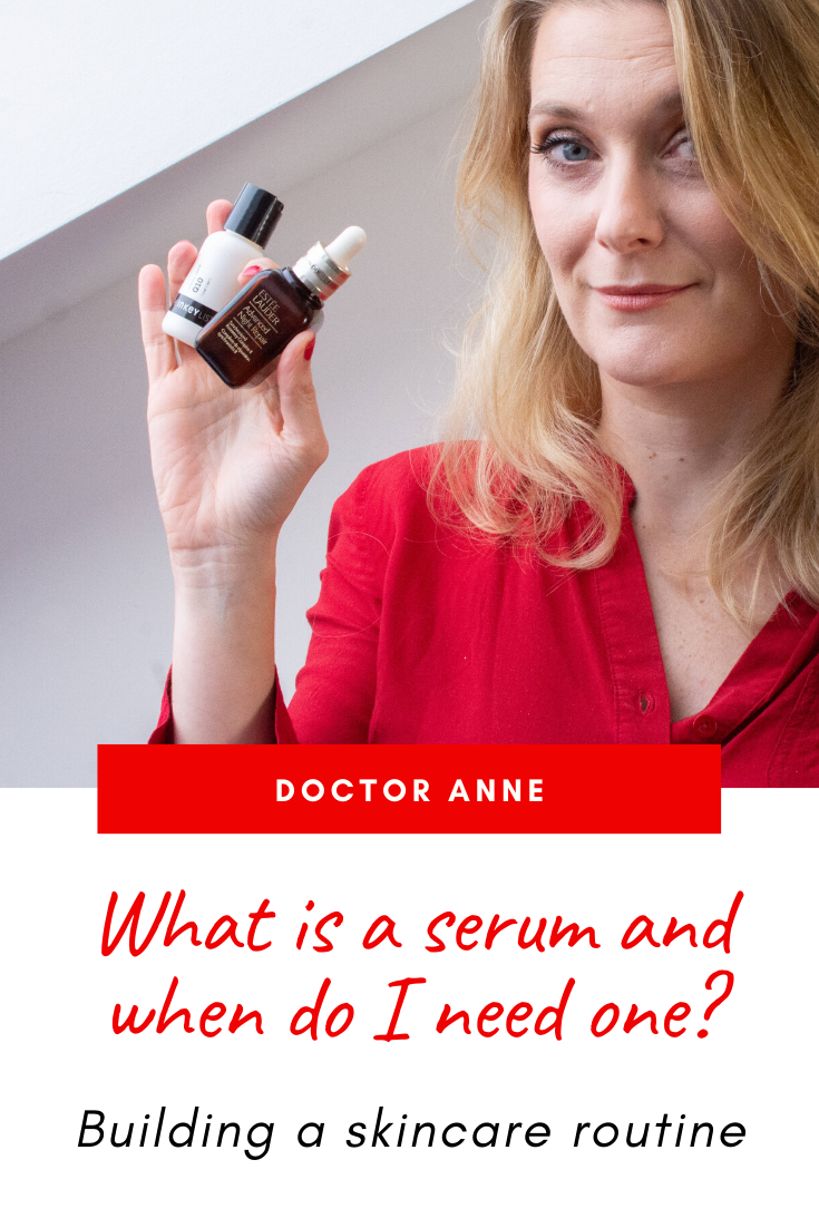 What is a serum, what does it do, where does it go in your routine and at which age do you need one? Doctor Anne explains everything you need to know!