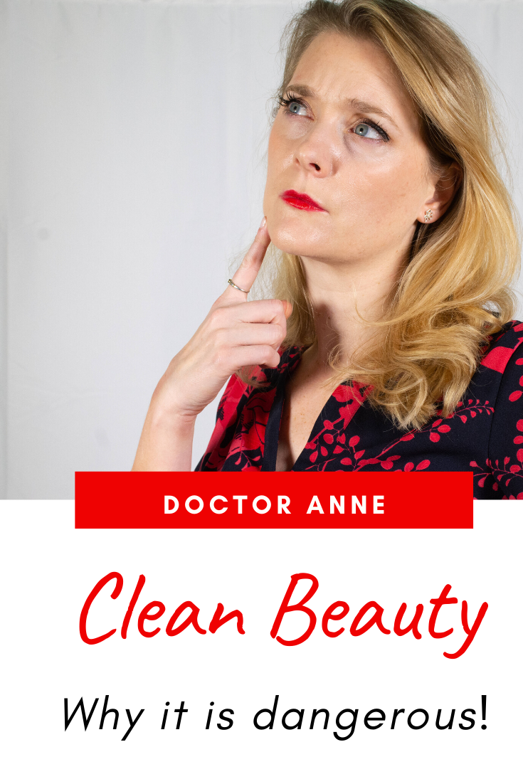 The truth about Clean Beauty - why it is more dangerous than you might think!