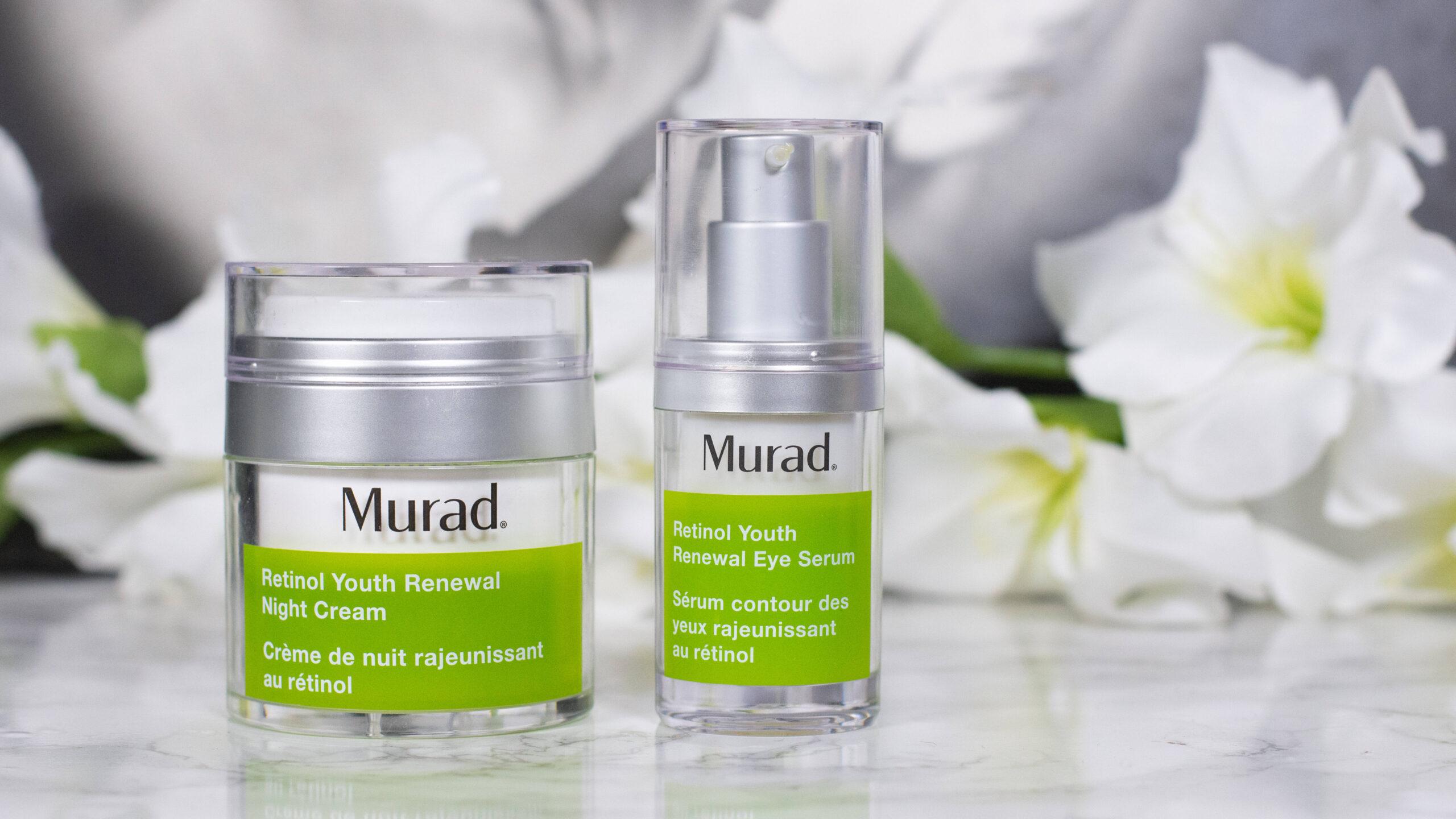Murad Retinol Youth Renewal Eye Serum and Night Cream