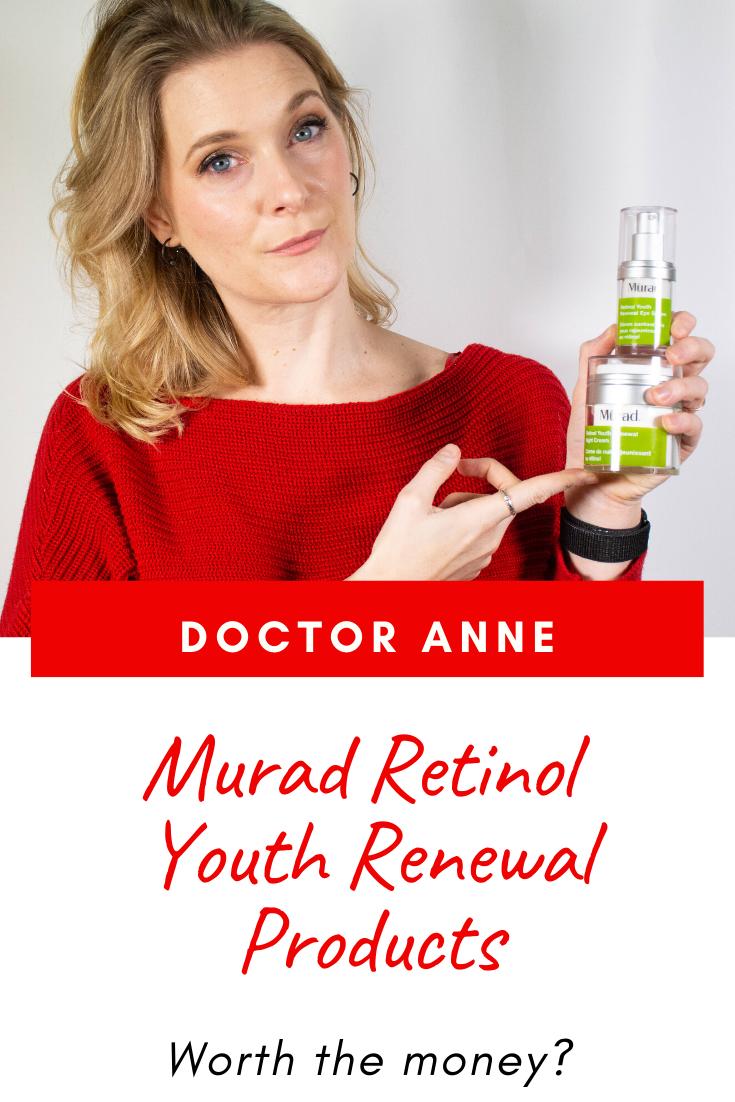 Murad Retinol Youth Renewal skincare - worth your money?