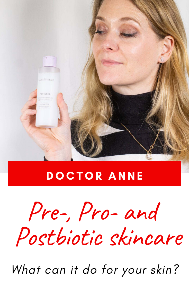 Prebiotic, probiotic and postbiotic skincare - What can it do for your skin?