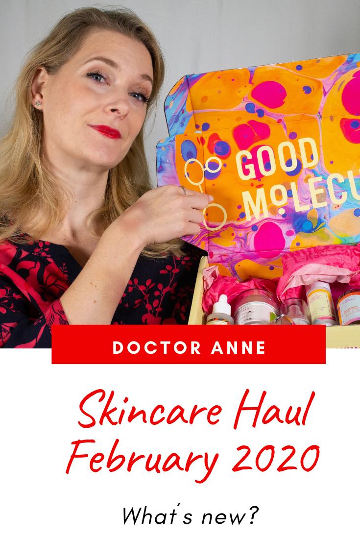 Skincare Haul February 2020 featuring Good Molecules, Murad and Merumaya