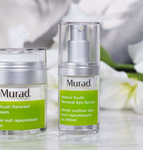 Murad Retinol Youth Renewal Night Cream and Eye Serum