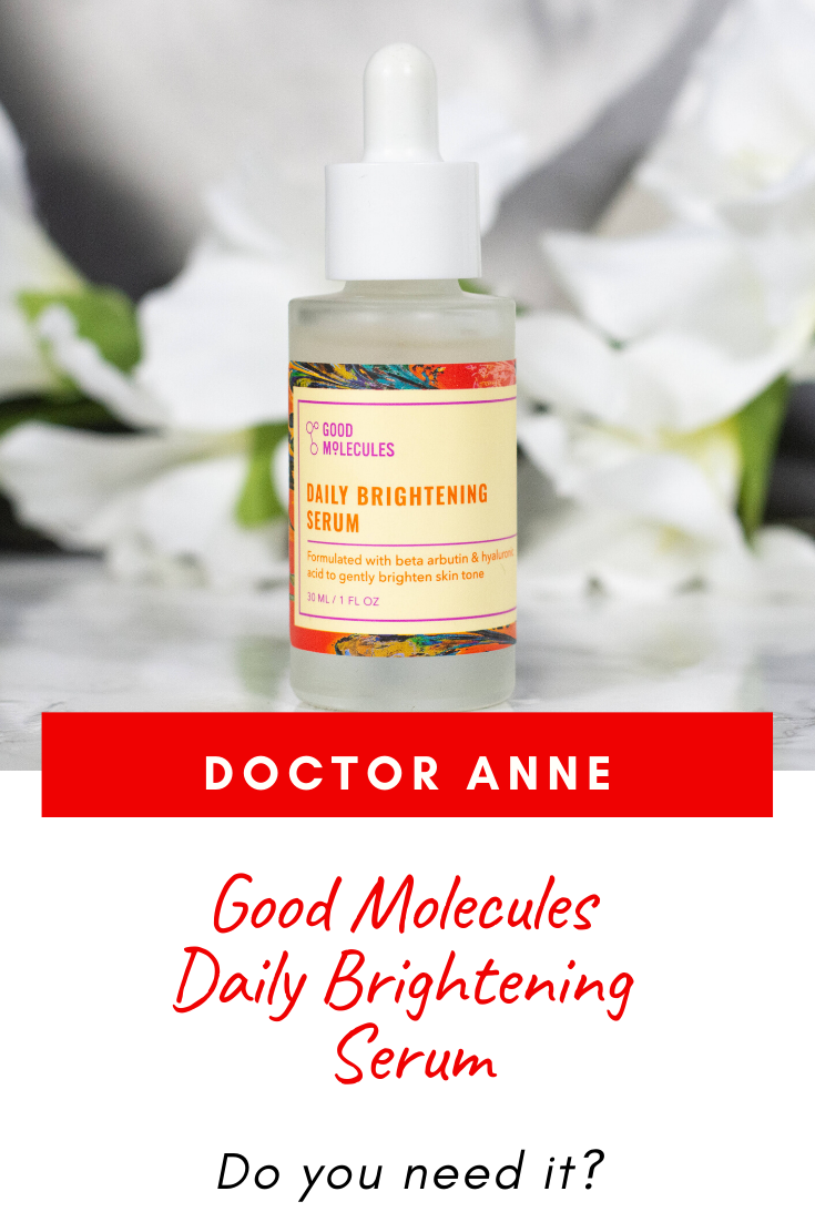 Hydration and brightening - sounds good? Then take a look at the Good Molecules Daily Brightening Serum. The claims, the ingredients and how it works on the skin.