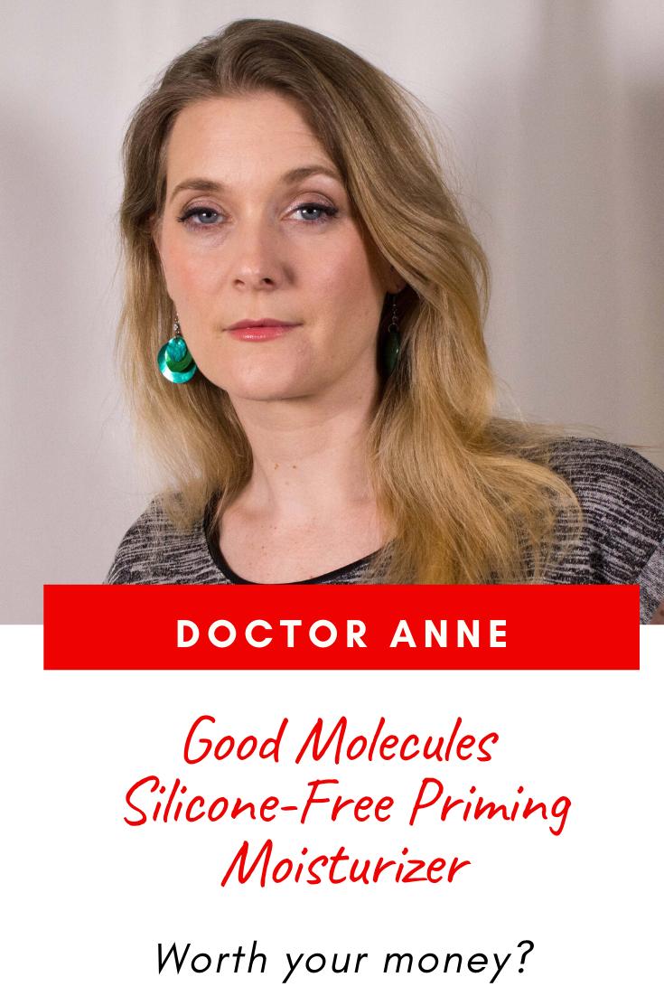 Good Molecules Silicone Free Priming Moisturizer