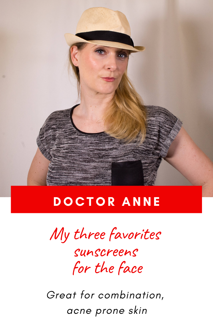 The best sunscreens for the face - combination, acne prone skin.
