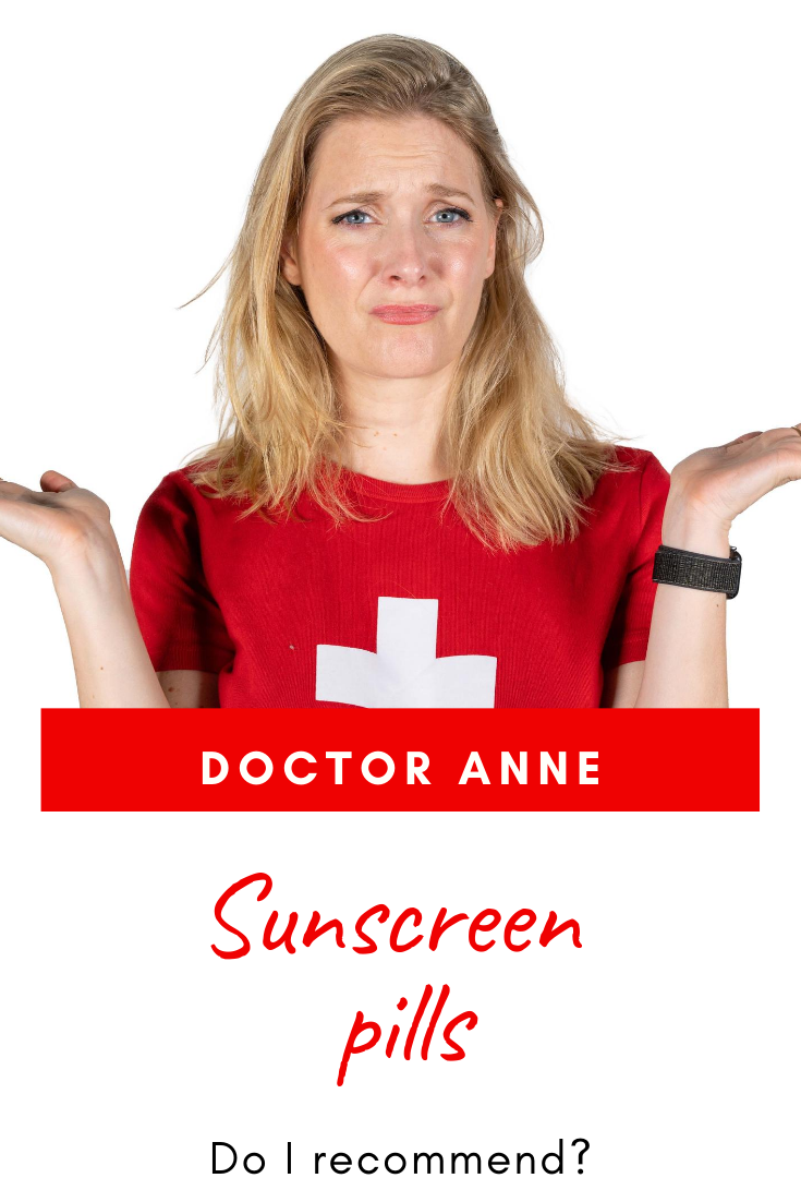 Do I recommend sunscreen pills - benefits and dangers of oral sun protection!