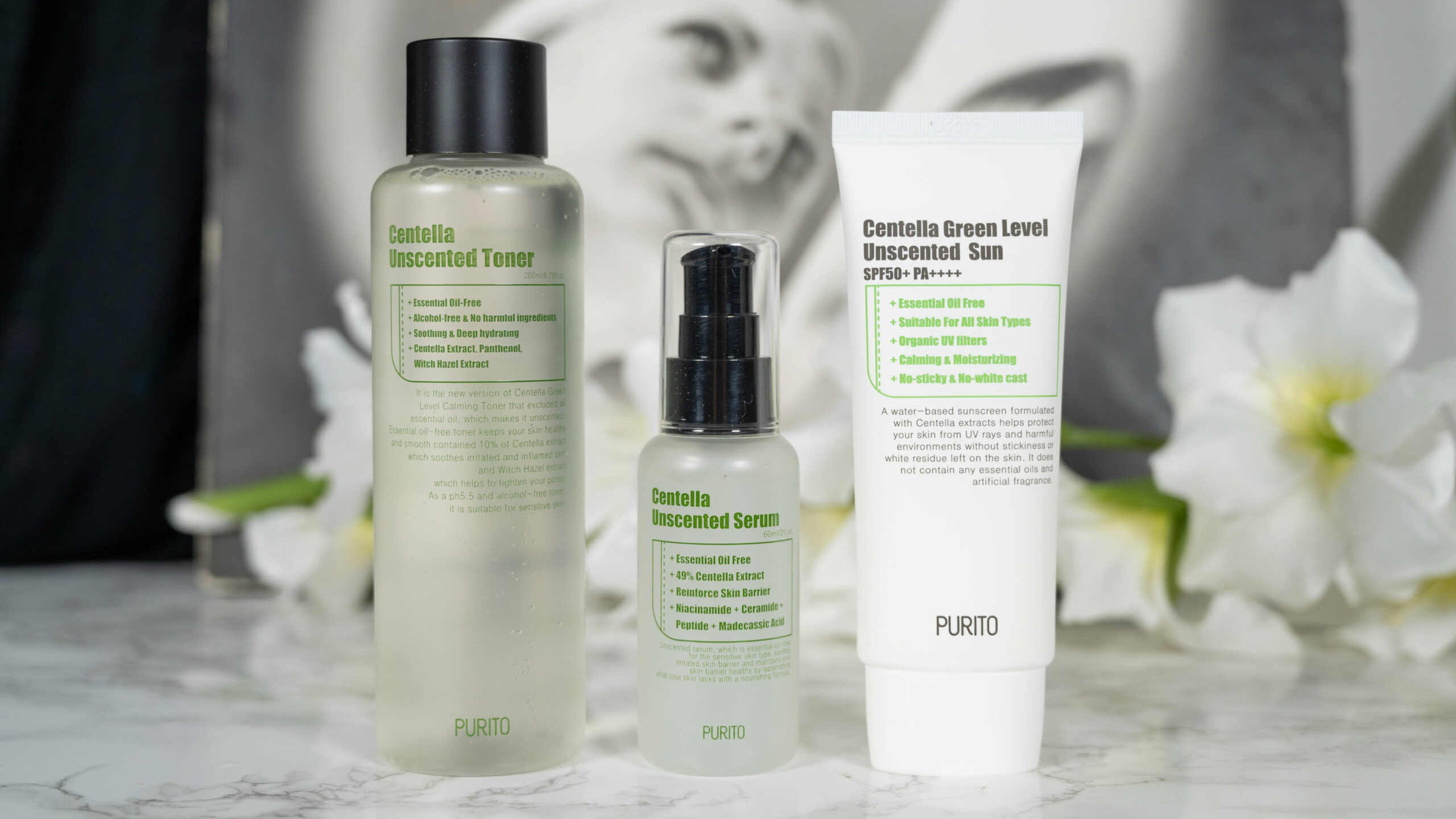 Purito Centella Unscented Line